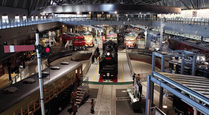 鉄道博物館とイチゴ狩り